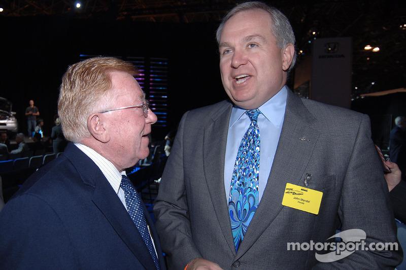 John Mendel avec Dr. Don Panoz