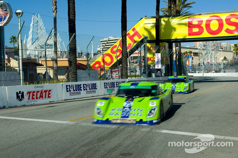 Krohn Race Ford Rileys approche le virage de la fontaine