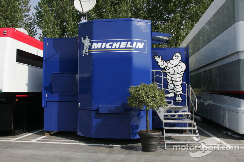 La zone d'hospitalité de Michelin