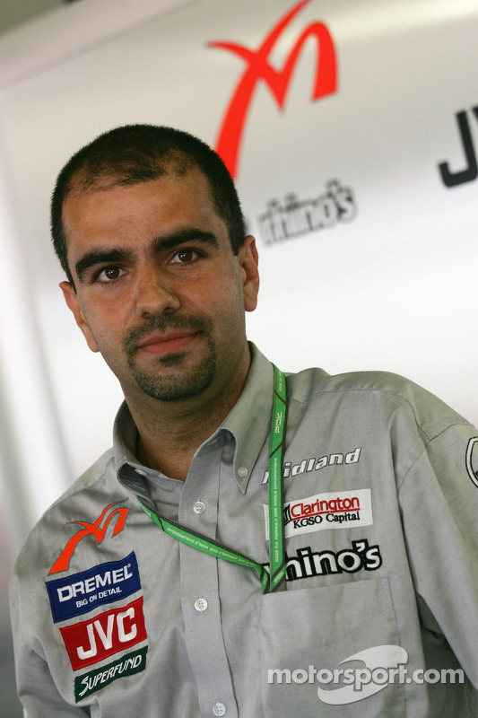 Ingénieur de MF1 Jose Santos