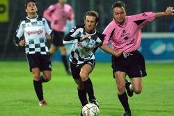 Champions for Charity football match, Ravenna's Benelli Stadium: Jarno Trulli