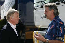 Max Mosley with Gordon Murray