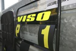 Ernesto Viso pit board