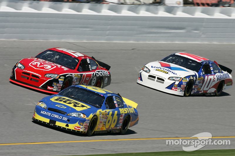 Jeff Green, Jeremy Mayfield et Scott Riggs