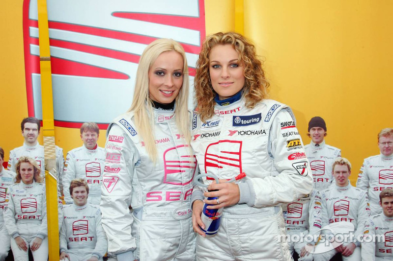 Seat Leon Supercopa: Cora Schumacher and Christina Surer