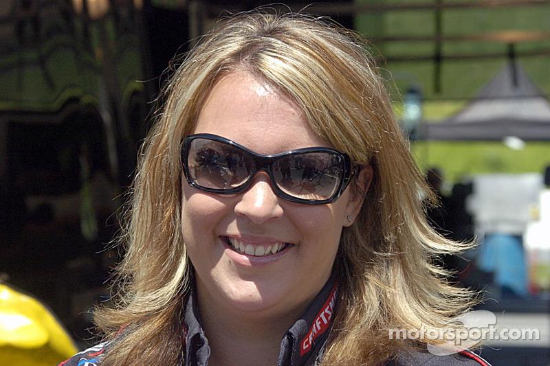 Rhonda Hartman-Smith est de retour en course après avoir été en congé maternité