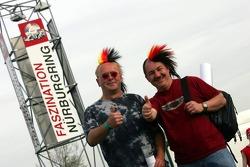 Fans at Nürburgring