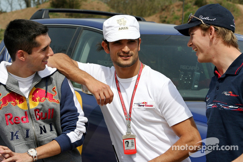 Red Bull: Neel Jani, Vitantonio Liuzzi et Scott Speed