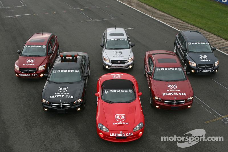 Des véhicules de Dodge de la FIA-GT
