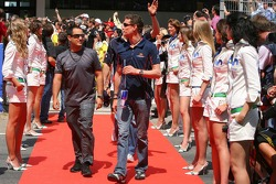Juan Pablo Montoya et David Coulthard