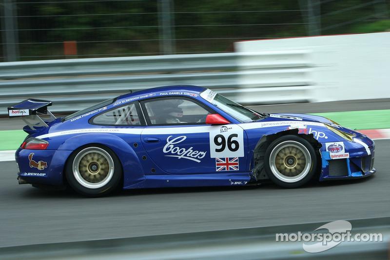 #96 James Watt Automotive Porsche GT3 RSR: Paul Daniels, Jack Elsegood, Xavier Pompidou