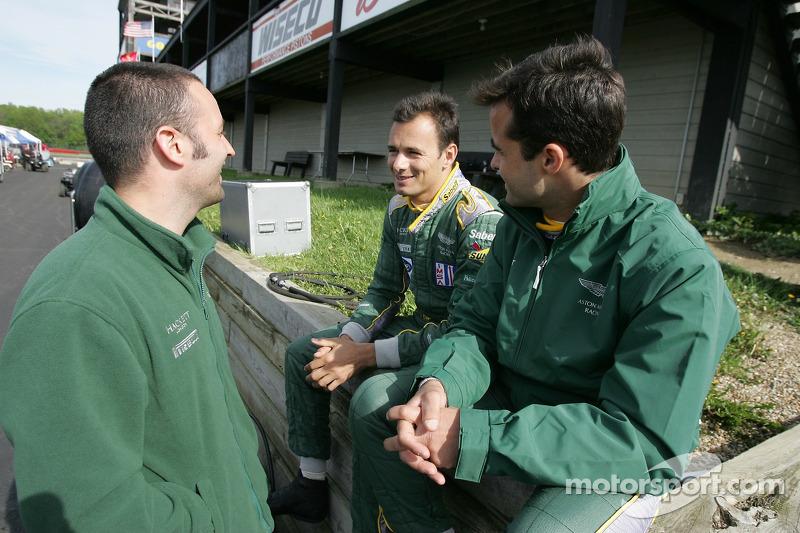 Darren Turner, Stéphane Sarrazin et Pedro Lamy