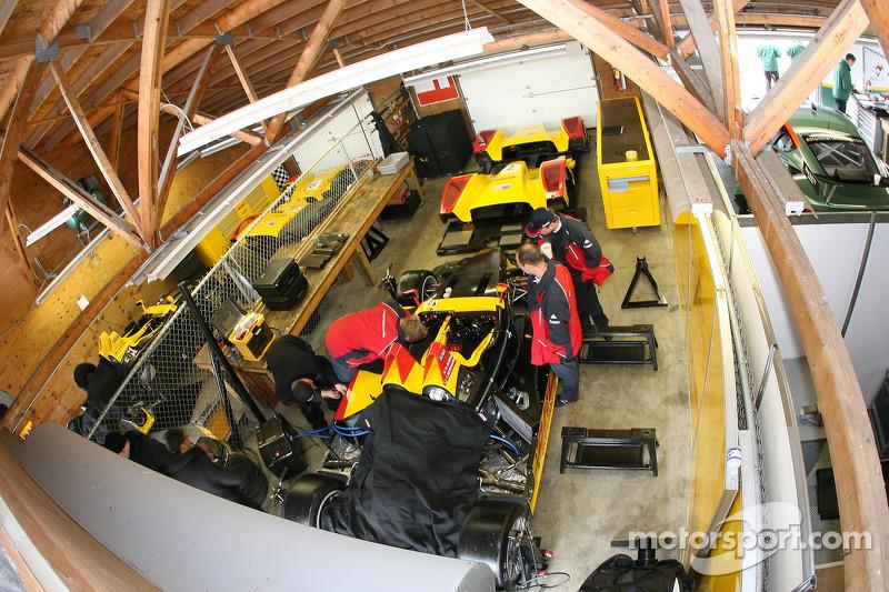 Le garage de Penske Motorsports
