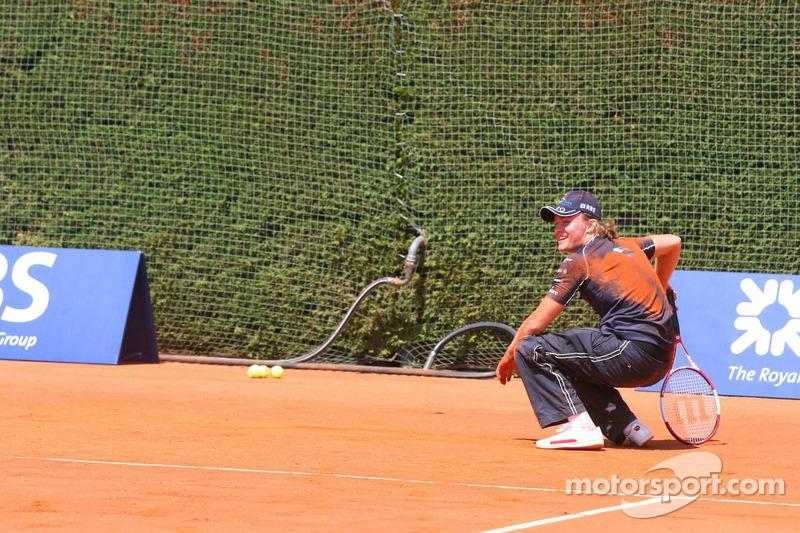 Match de tennis: Nico Rosberg
