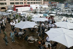 Chilled Thursday: the deck of the Red Bull Energy Station