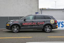 Audi Q7 Medical Car For 24 Hours Of Le Mans