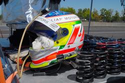 Michael Valiante's helmet