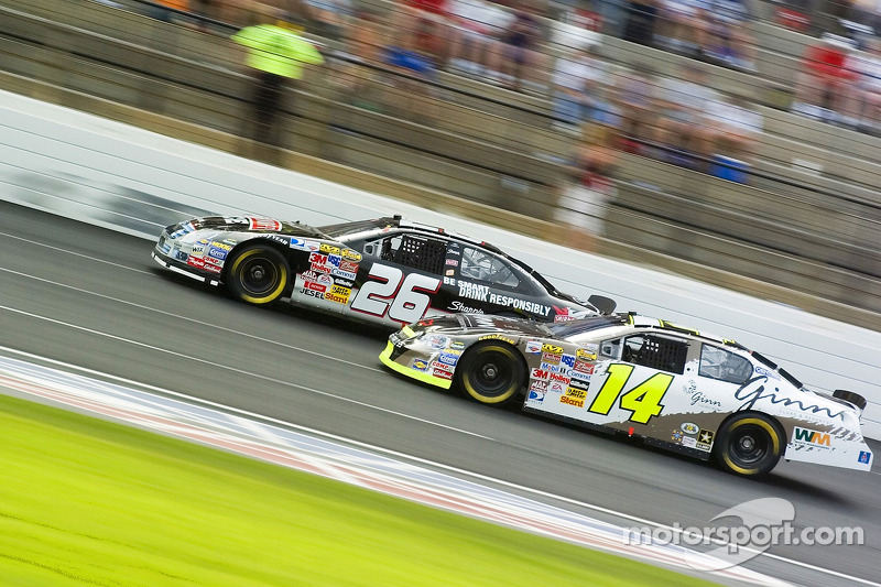 Jamie McMurray et Sterling Marlin
