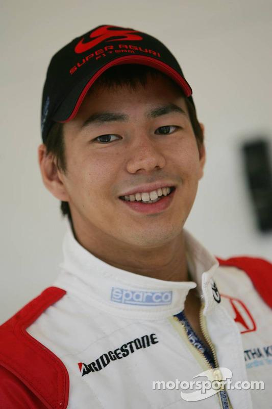 Le pilote d'essai de Super Aguri Sakon Yamamoto