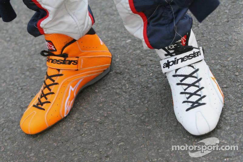 Zapatos de Vitantonio Liuzzi