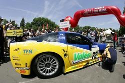 Luc Alphand Aventures Corvette C5-R at scrutineering