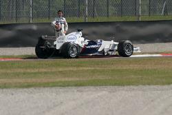 Robert Kubica in trouble