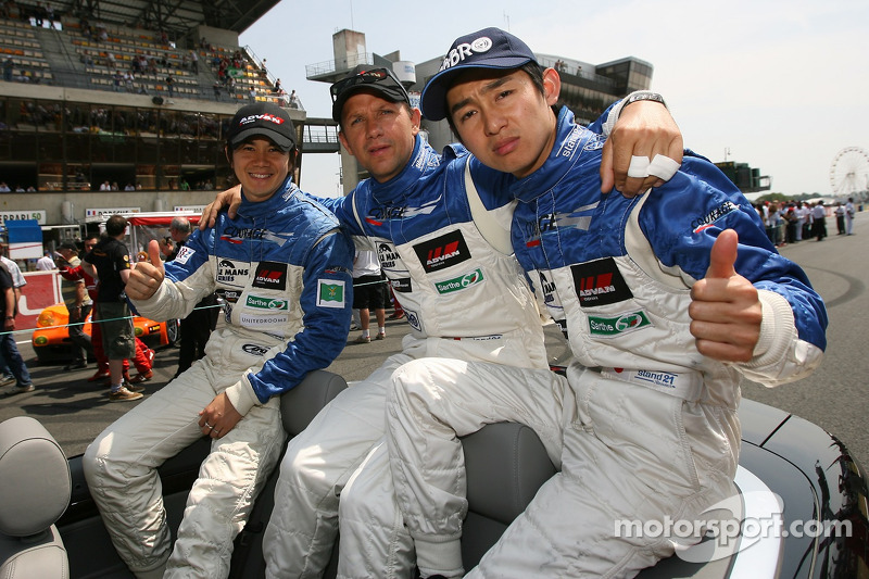 Shinji Nakano, Jean-Marc Gounon et Haruki Kurosawa