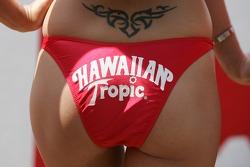 Hawaiian Tropic tattoo