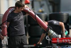 McLaren team member at work