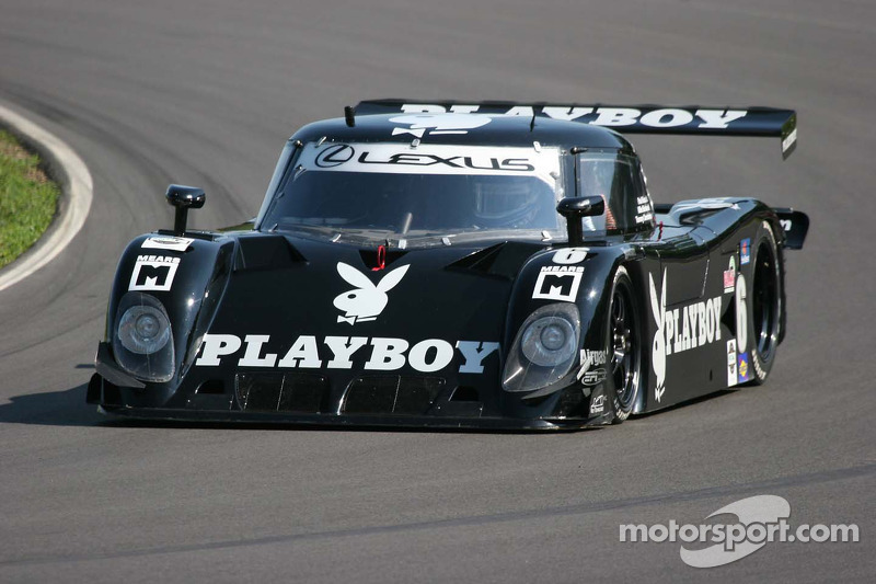 #6 Playboy Racing/ Mears-Lexus/Riley Lexus Riley: Mike Borkowski