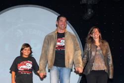 Max and Tatiana Papis with Pietro Fittipaldi