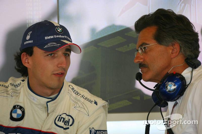 Robert Kubica avec Dr. Mario Theissen