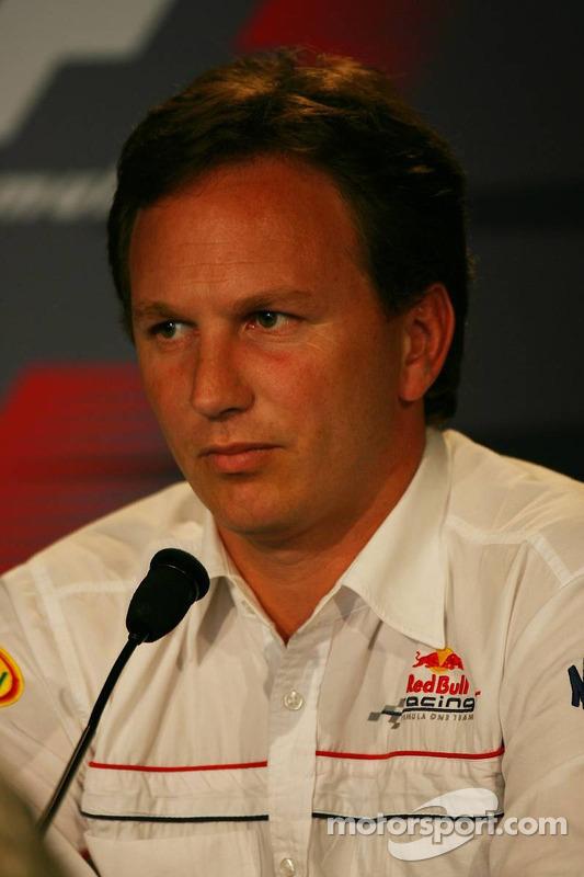 Conférence de presse de la FIA le vendredi : Christian Horner