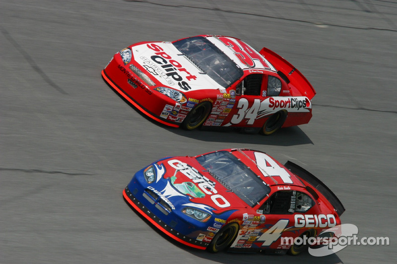Kevin Hamlin et Paul Tracy