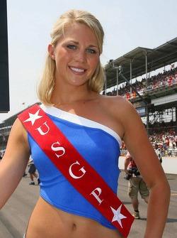 US GP grid girl
