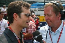 Martin Brundle interviews Jeff Gordon