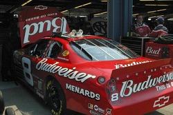 Work on Dale Earnhardt Jr.'s car