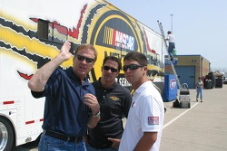 Rusty Wallace, David Stremme and Reed Sorenson