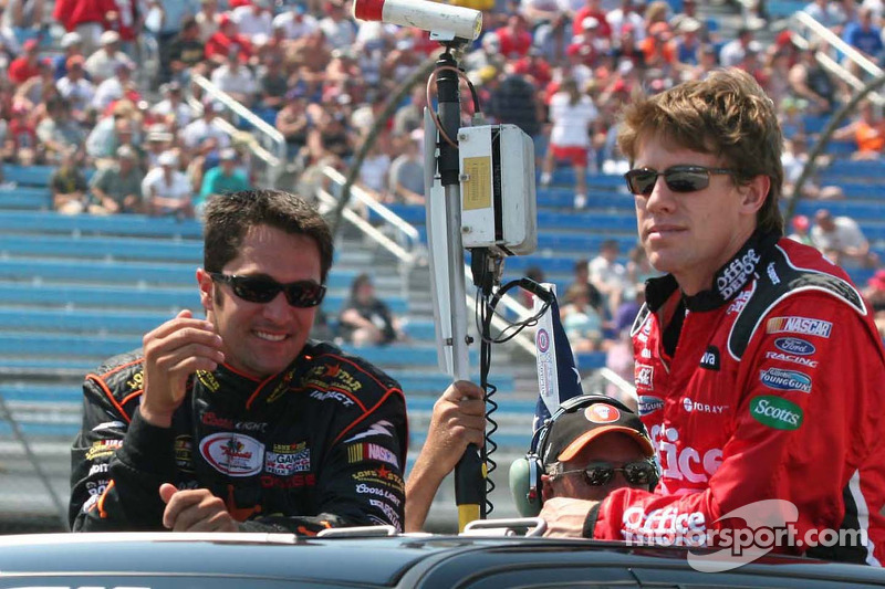 David Stremme et Carl Edwards