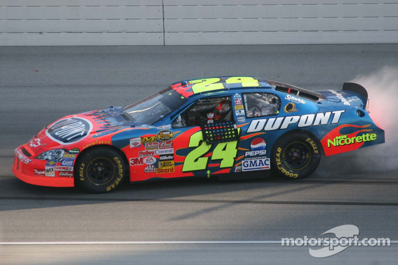Burn out pour Jeff Gordon