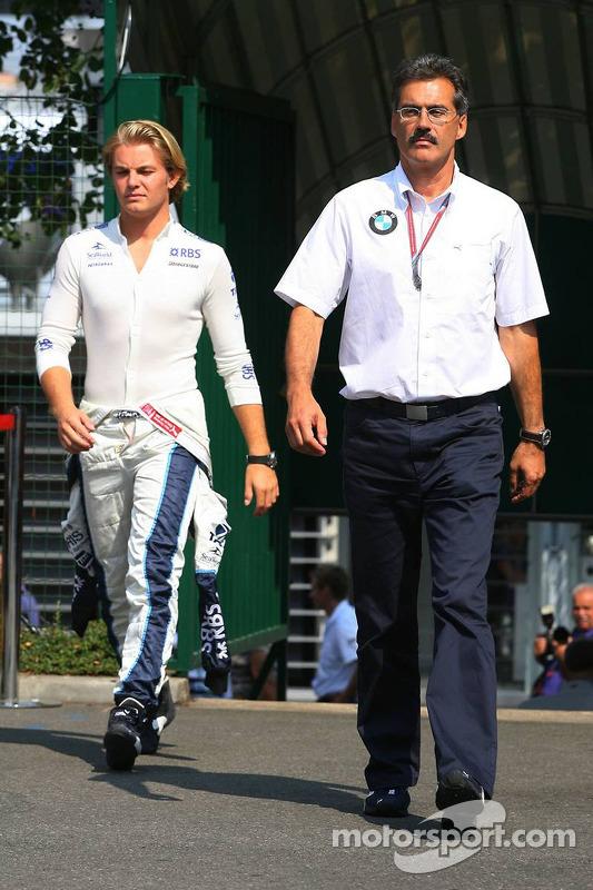 Dr. Mario Theissen et Nico Rosberg