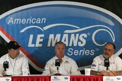 Acura press conference: Robert Clarke, Duncan Dayton and Kim Green