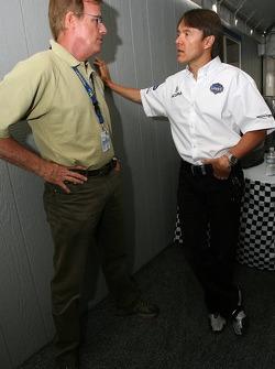 Danny Sullivan and Adrian Fernandez