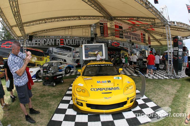Chevrolet affichée au Portland International Raceway
