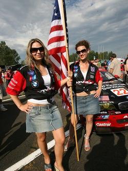Team PTG flag girls