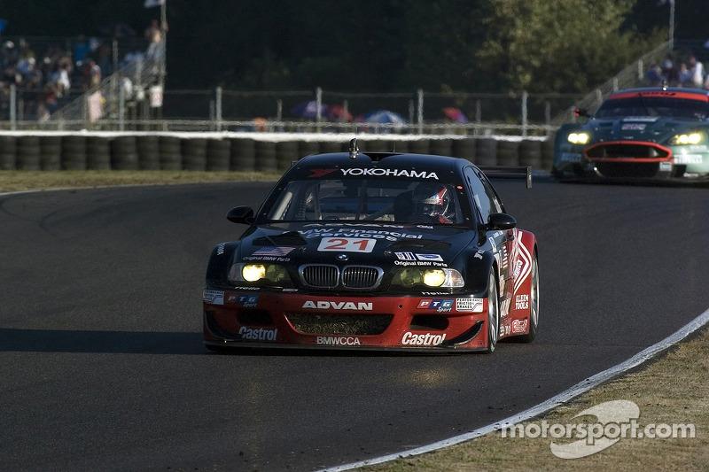#21 Team PTG BMW E46 M3: Bill Auberlen, Joey Hand