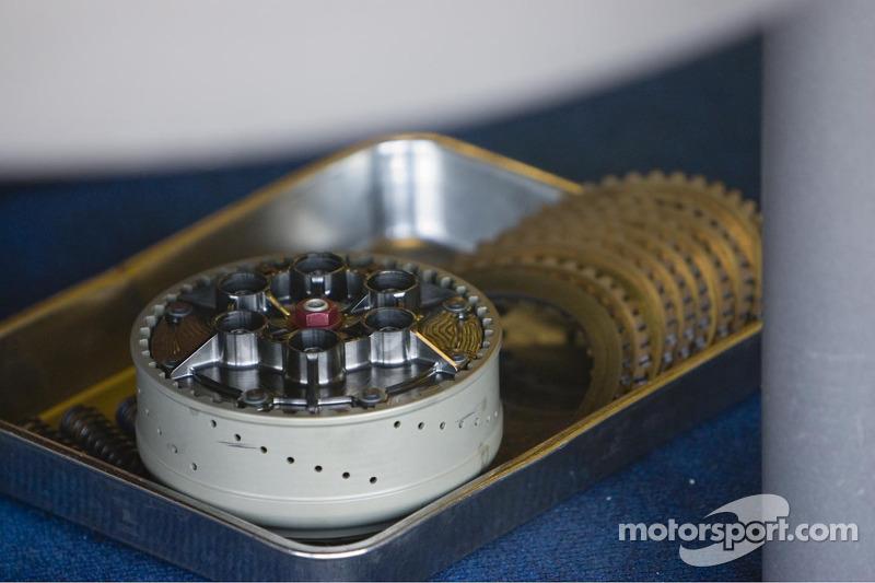 Mécanismes de la moto de Valentino Rossi
