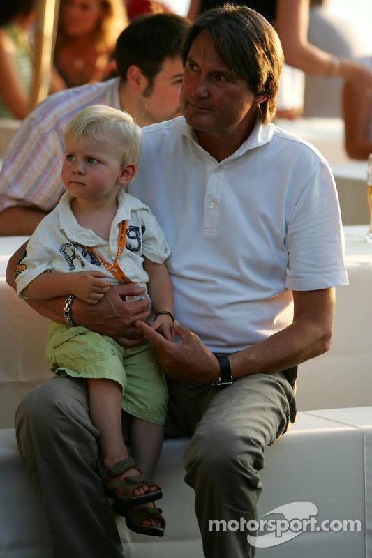 Présentation des bateaux pour la course à Zandvoort: Hermann Tomczyk, le président de ADAC Sport