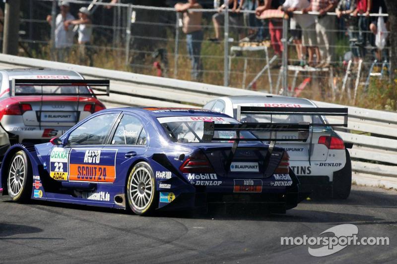 Susie Stoddart heurte l'arrière de Heinz-Harald Frentzen