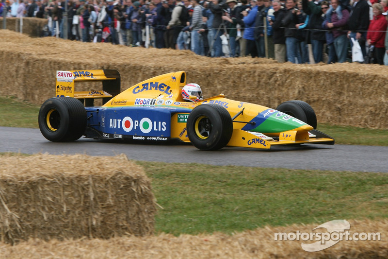 Benetton Cosworth B191: Martin Brundle